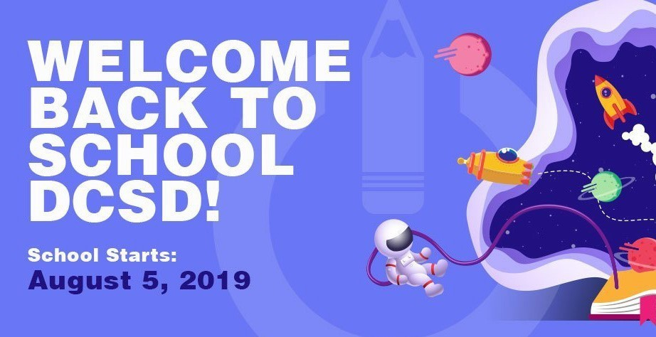 Back To School - Monday, August 05, 2019